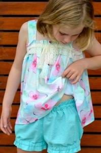 charlotte shorts pajamas VFT